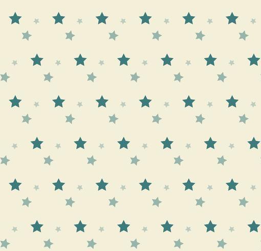 Greens sterren op geel patroon vector