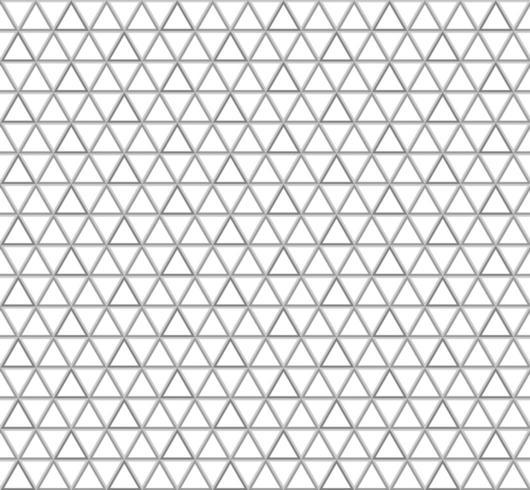 Naadloos driehoekspatroon vector
