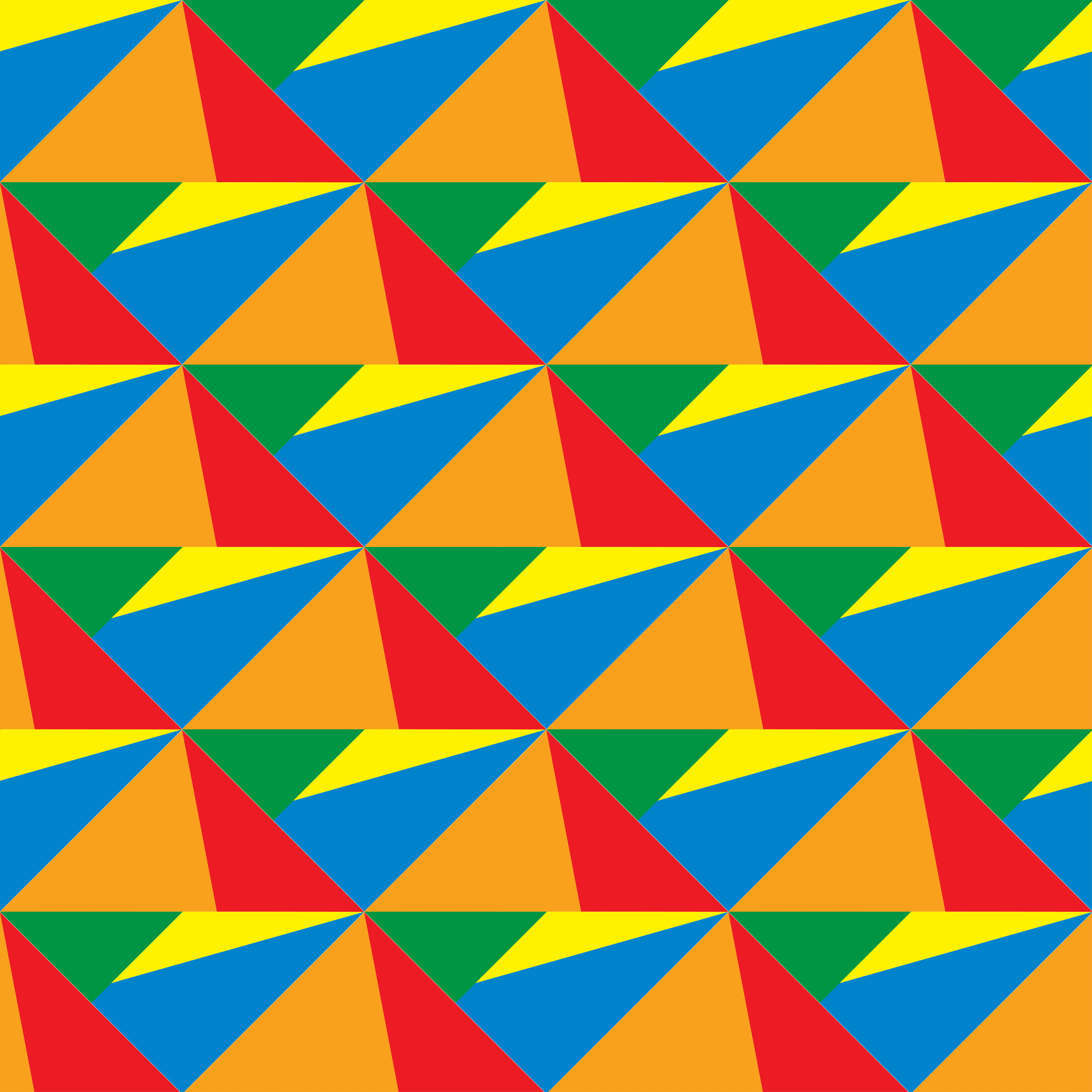 Colorful geometric shapes 3d pattern - Download Free