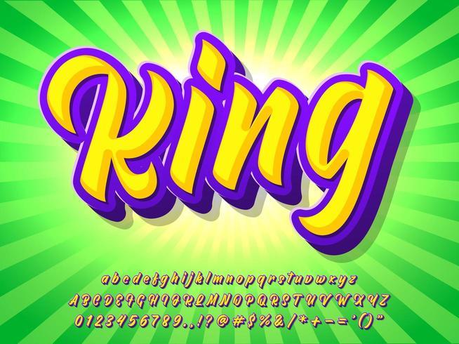 Kleurrijk logo alfabet vector