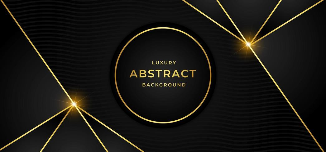 Fond de luxe avec doré