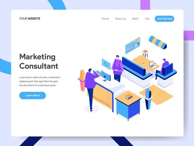Digital Marketing Consultant  vector