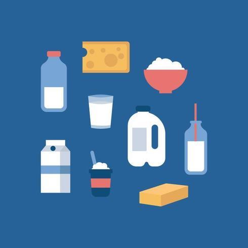 Produits plats laitiers