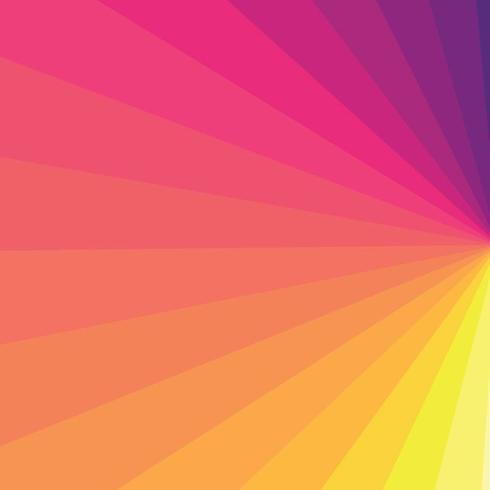 Abstracte kleurenexplosie vector