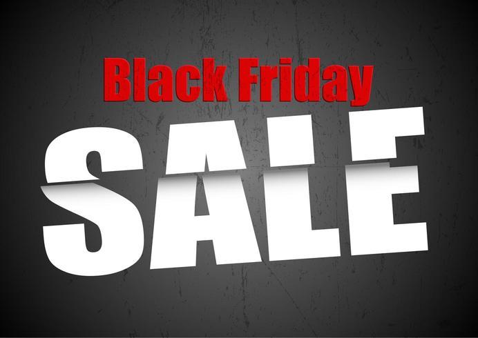 Black Friday Sale Hintergrund vektor