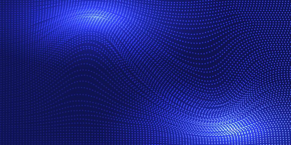 Fond de vagues abstraites vecteur
