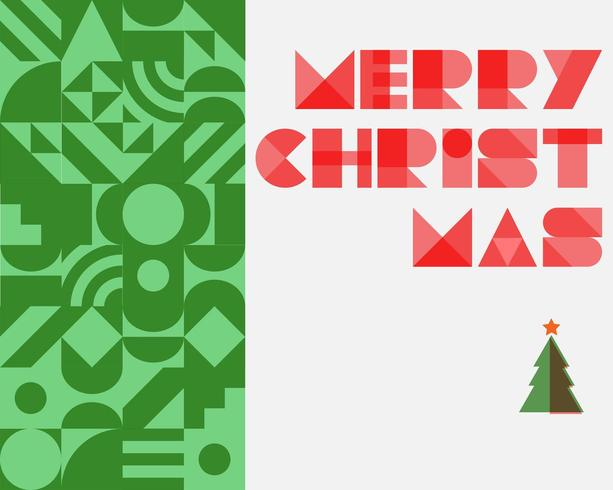 Kerstmis abstracte achtergrond met kerstboom
