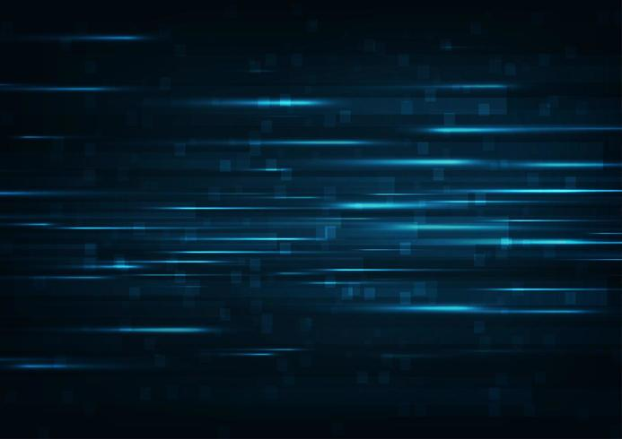 Gloeiende hoge snelheid Abstracte technische achtergrond