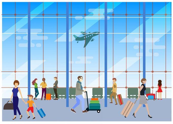 Il terminal dell'aeroporto
