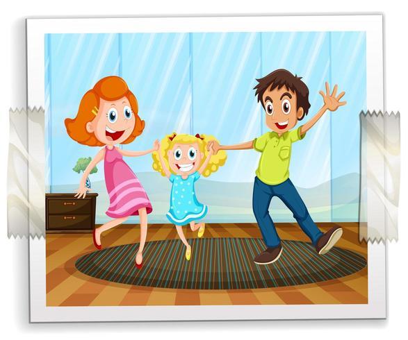 Happy Family clipart. Free download transparent .PNG | Creazilla