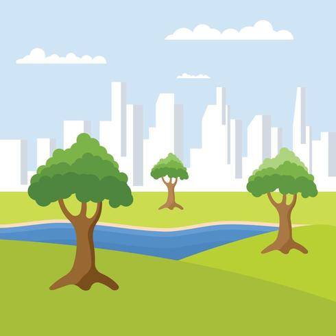 Trees Out Of The City