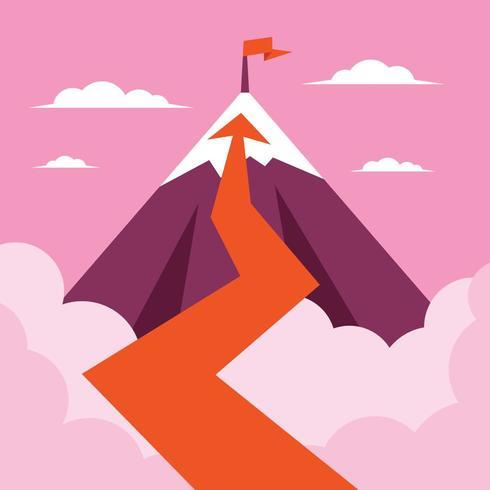 Een weg naar de top