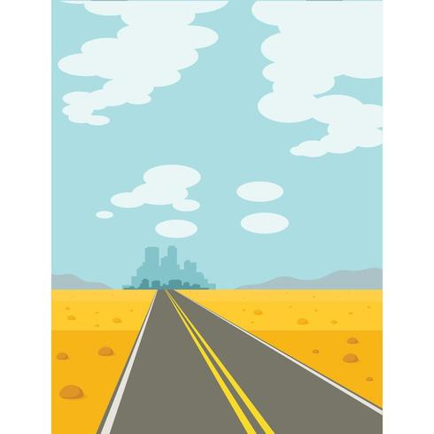 A Road To The City