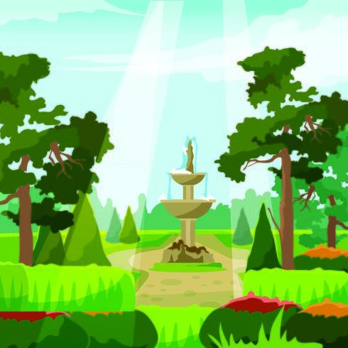 O belo parque