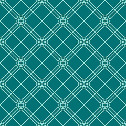 seamless rounded diamond geometric pattern vector