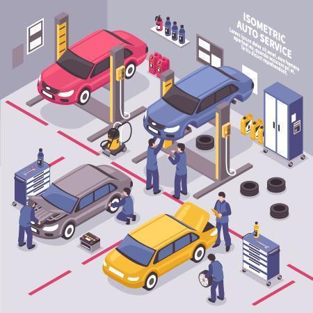 Repairing The Cars