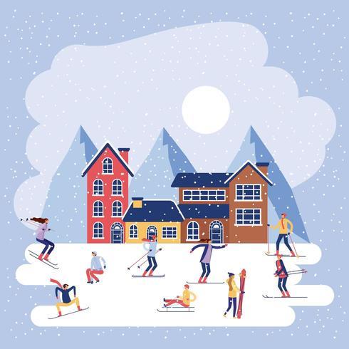 vacances d'hiver noel
