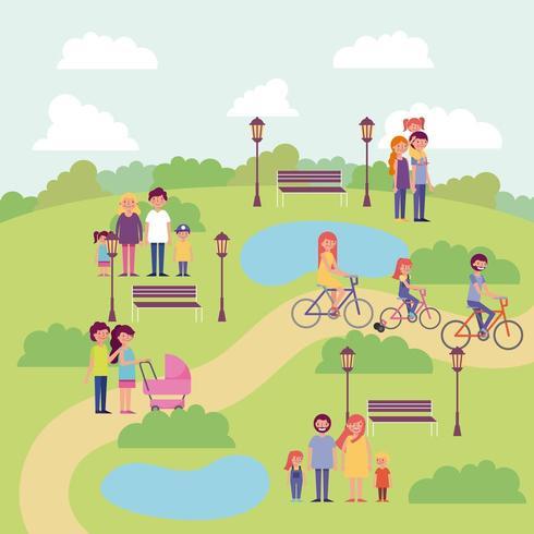 people activity park
