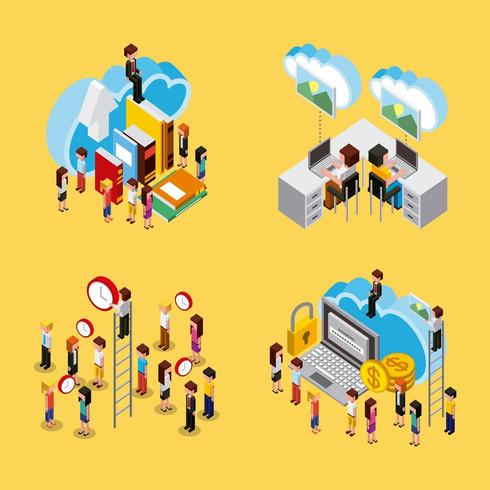 people cloud computing storage