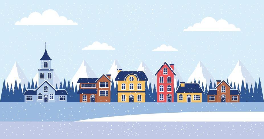 winter vakanties huizen kerstmis