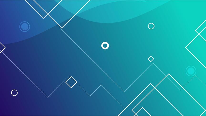 Line Abstract Banner