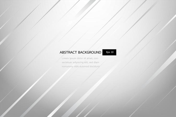 white and grey elegant abstract background, shine and smooth template.