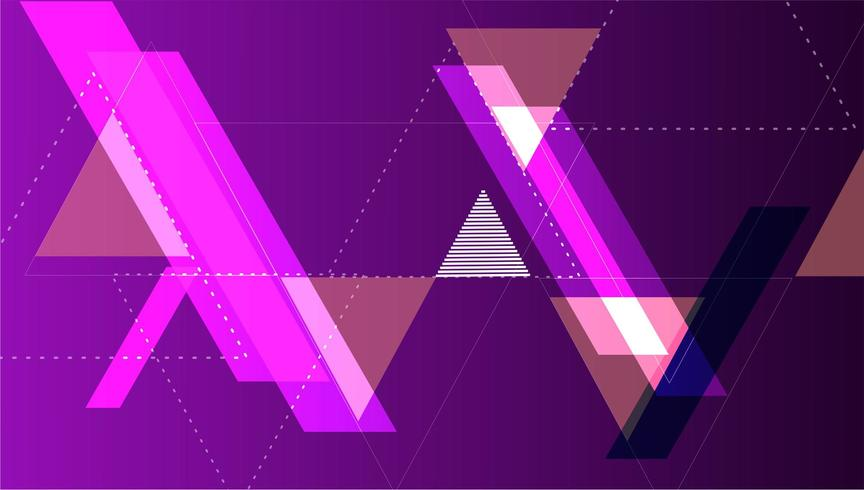 colorful minimal abstract art background