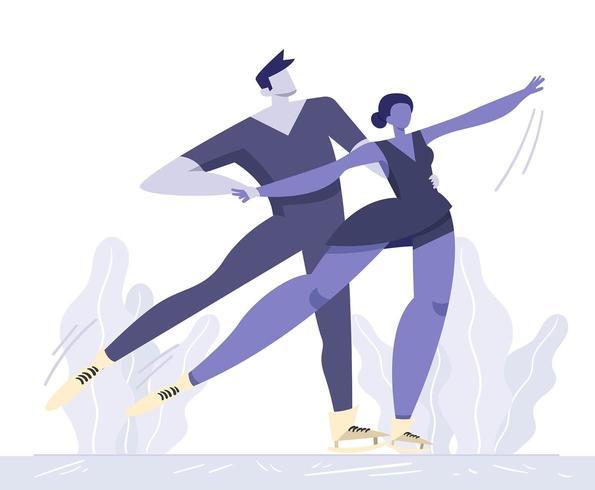 dans på is