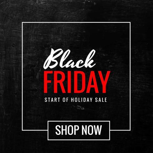 venerdì nero vendita moderna sfondo nero