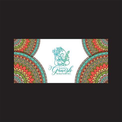 Happy Gonesh Chaturthi Festival Design