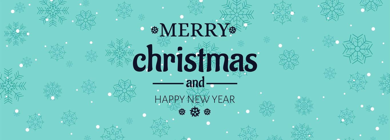 Ilustración de vector de plantilla de banner de tarjeta de celebraciones de Navidad