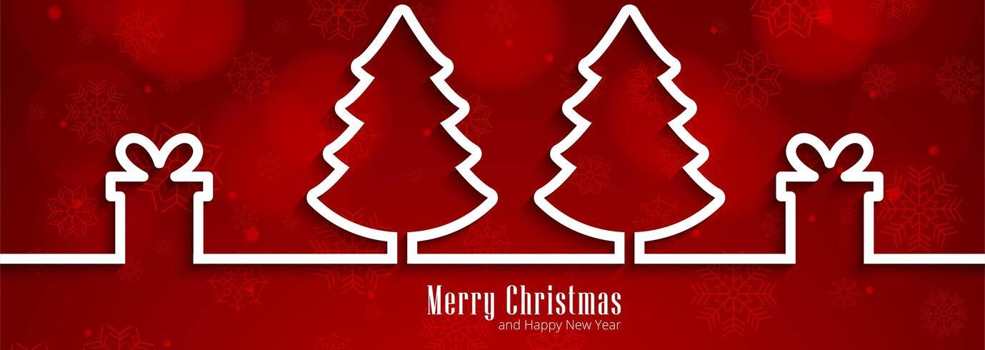 Fondo feliz Navidad para fondo de banner de elementos de Navidad vector