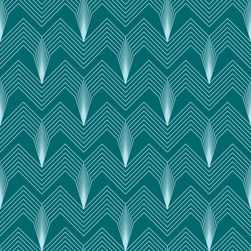 enkelt sömlös art deco geometriska mönster med vinklade linjer vektor