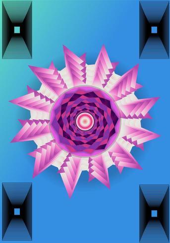 Shape Twirl Pattern vector