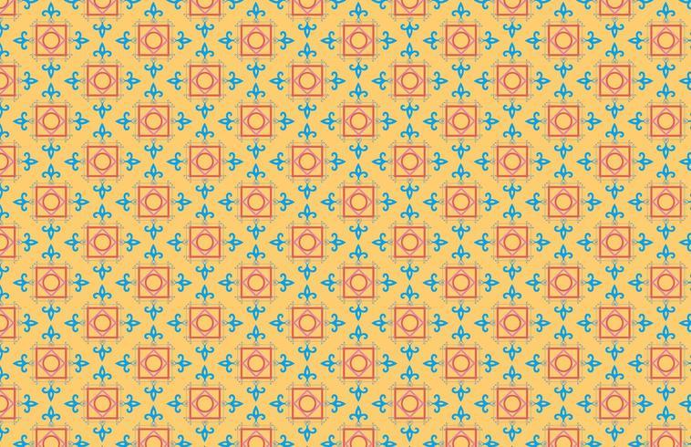 Patrón abstracto vintage vector