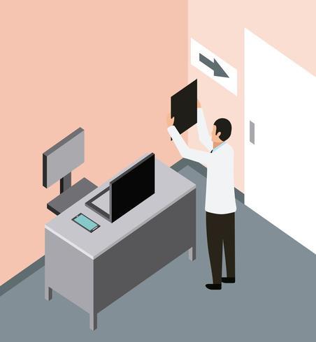 Arzt Röntgenbilder überprüfen
