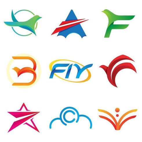 Logotipo de Fly Freedom Air. vector