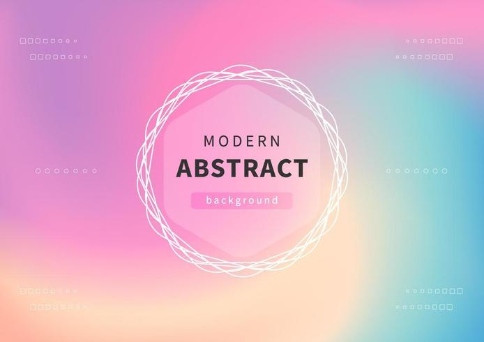 Modern holographic abstract background.  vector