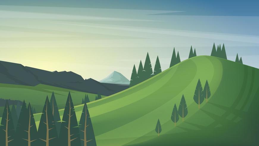 Dschungel und Berge