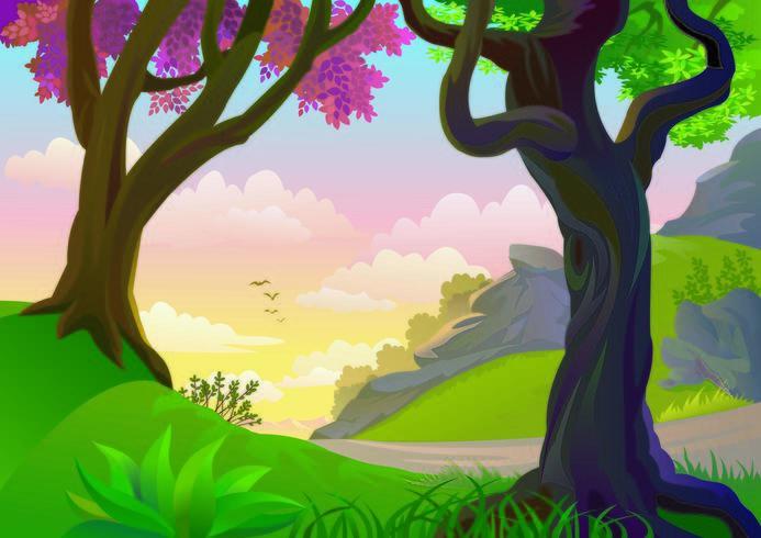 The Colorful Jungle