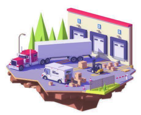 Isometric Parking For Trucks