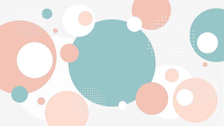 abstrakt platt cirklar bakgrund vektor