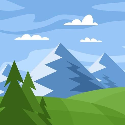 giungla e la montagna