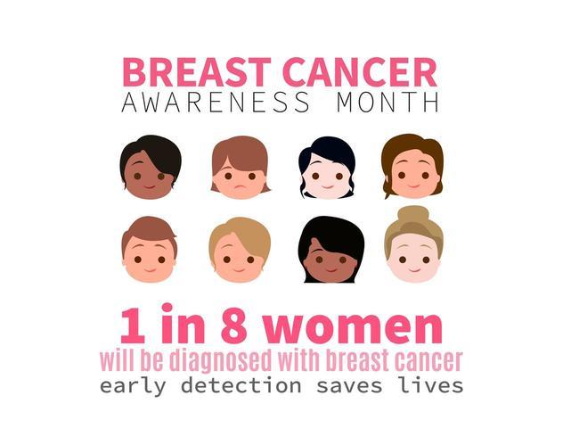 Mois de sensibilisation au cancer du sein avec femmes chefs