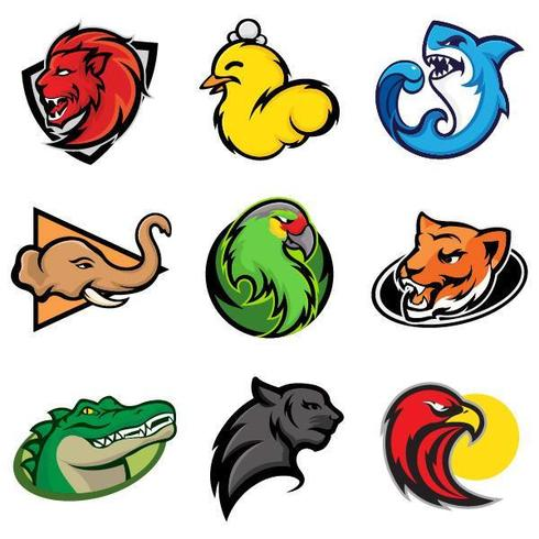 eSports team and game animal logos