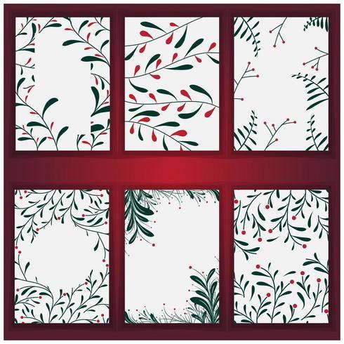 Conjunto de fondo y textura de árbol de Navidad