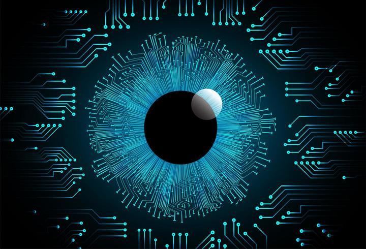 Circuito de suporte de tecnologia vetor