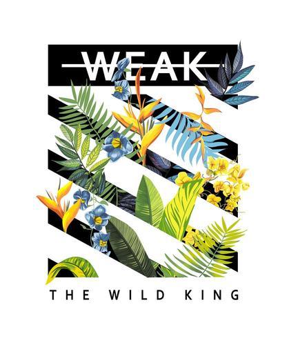 The Wild King vektor