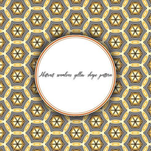 Vintage Pattern Hexagonal Line vector