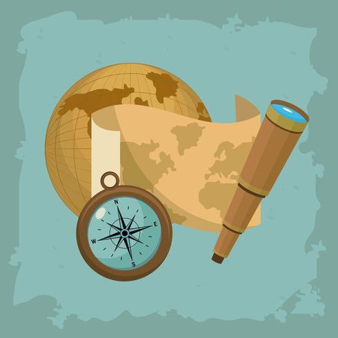 concetto di navigazione vettore